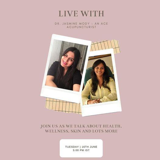 Session on health wellness by dr jasmine modi & Namrata Soni