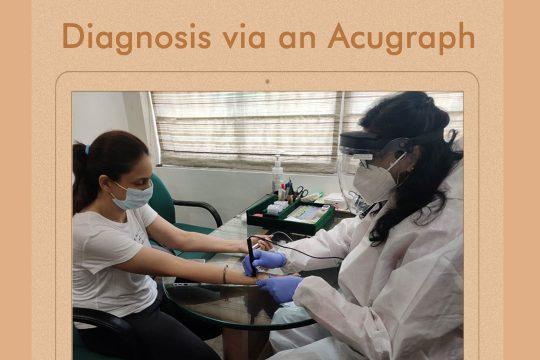Diagnosis Via Acupragh